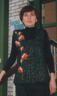 Фото 3  Вязаная крючком картина в одежде