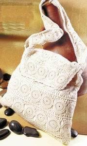 Красивые вязание крючком летних сумок - отличного качеста.